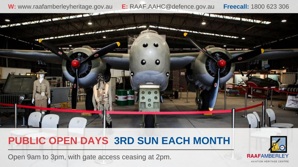 RAAF AAHC Public Open Days