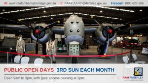 RAAF Amberley Aviation Heritage Centre Public Open Days
