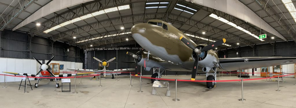 Aircraft Displays - Dakota Aircraft Hangar