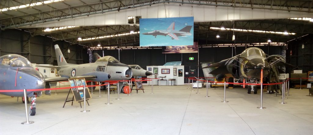 Aircraft Displays - Fighter Aircraft Hangar